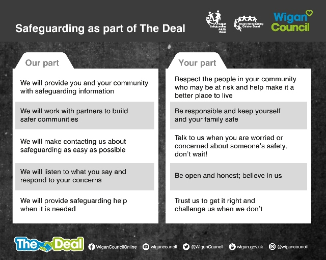 Safeguarding as part of the deal